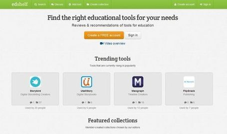 Edshelf: Herramientas y apps para la educación | Edu-Recursos 2.0 | Scoop.it