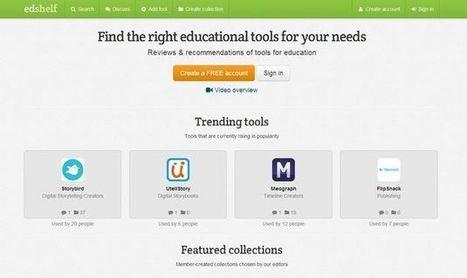 Edshelf: Herramientas y apps para la educación | Edu-Recursos 2.0 | Scoop.it