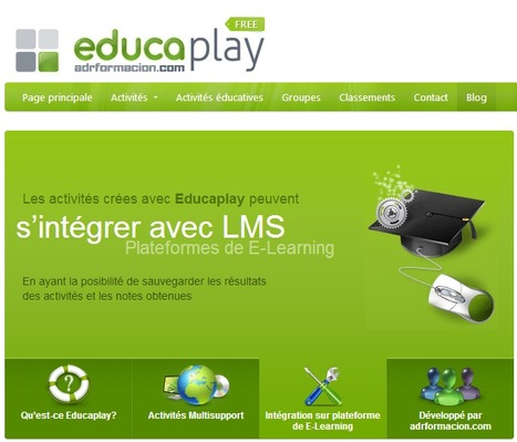 Site d' Activités Éducatives multimedia - Educaplay | Time to Learn | Scoop.it