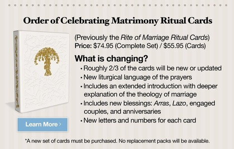 Fwd: Changes to Together for Life & Rite of Marriage Coming Soon | Marriage and Family (Catholic & Christian) | Scoop.it