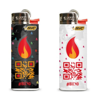 SCAN, VOTE & SHARE [Concours BIC Design on Fire]   QRdressCode   Scoop.it
