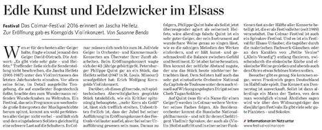 Edle Kunst und Edelzwicker im Elsass   Colmar et ses manifestations   Scoop.it