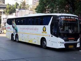 Hi-tech buses raise luxury quotient in poll yatras - The Economic Times   Automotive Wheels View   Scoop.it