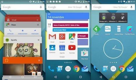 Android 5.0: le nouvel OS mobile de Google nous a bluffé par sa beauté et sa fluidité | toute l'info sur Google | Scoop.it