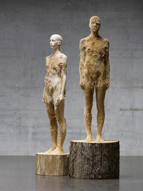 Heykeltraş Aaron Demetz | aykenti | Minimal Art: Sadelik, Zeka ve Mizah. | Scoop.it