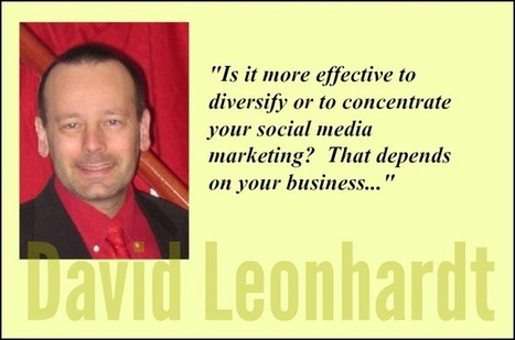Social Media Strategy – to concentrate or to diversify | Social Media | Scoop.it