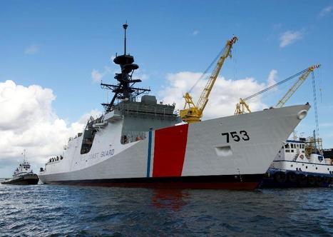 Ingalls Shipbuilding Launches Fourth US Coast Guard National ... | US Coast Guard | Scoop.it