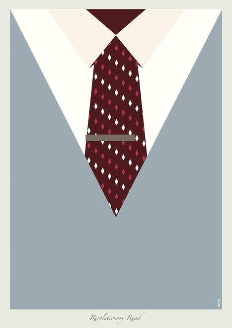 Dicaprio Suits in Minimalist Posters   Design and Aesthetics   Scoop.it