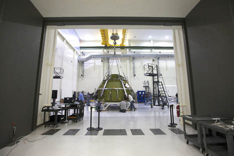 NASA's Orion EM-1 Crew Module Passes Critical Pressure Tests | New Space | Scoop.it