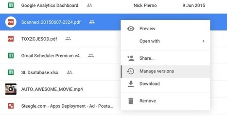 How to Update Files in Google Drive without Changing the Link | Moodle and Web 2.0 | Scoop.it