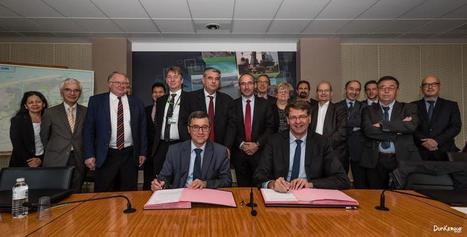 [DUNKERQUE] Dunkerque: partenariat renforcé entre le port et la communauté urbaine   Mer et Marine   Quick News Ports européens   Scoop.it
