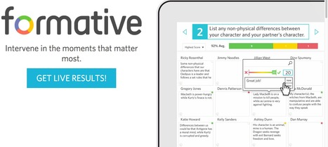 Formative - Real-time Formative Assessment | Integrating Instructional Technology | Scoop.it