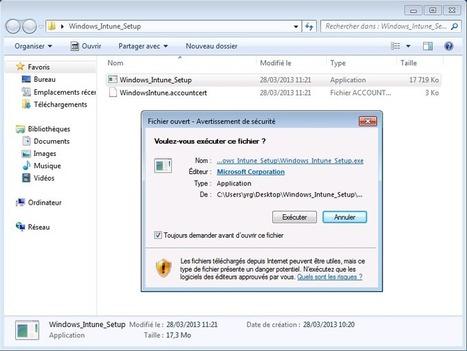 Déploiement manuel du client Windows Intune | Communications ... | Emeric_Techno | Scoop.it