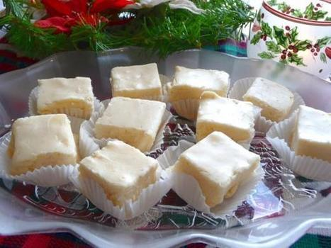 White Christmas Holiday Eggnog Fudge Recipe - Food.com   Christmas Ideas and Gifts   Scoop.it