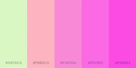 Find the Perfect Color Combos With This Addictive App | Artdictive Habits : Sustainable Lifestyle | Scoop.it