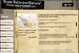 Aussi Belle que Nature, ateliers cosmétiques Lille | Annonce en France | Scoop.it