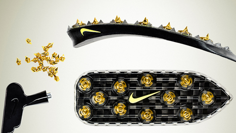 How Nike Mades Track Spikes For Oscar Pistorius's Carbon Fiber Blades - Co.Design | shubush design & wellbeing | Scoop.it