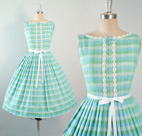 Vintage 50s Dress | whats been spotted on etsy today? | Scoop.it