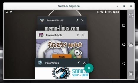 Seven Square : déporter l'affichage de l'écran  Android vers un PC GNU/Linux   Actualités de l'open source   Scoop.it