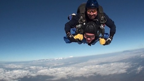 Video: 100-Year-Old Man Achieves Skydiving Dream On His Birthday - LAist | Skydiving | Scoop.it