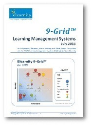 Elearnity 9-Grid for Learning Management Systems 2013 | Learning Management Systems | Scoop.it