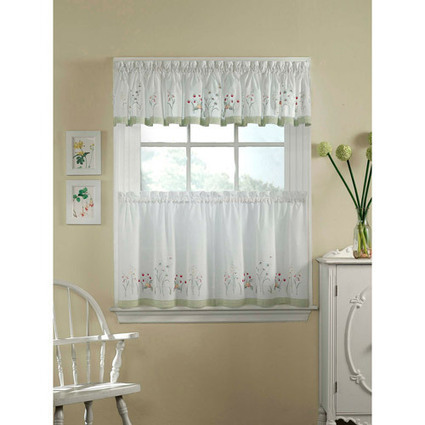 Lace kitchen curtains for a classy home | kitchen Fix it | Scoop.it