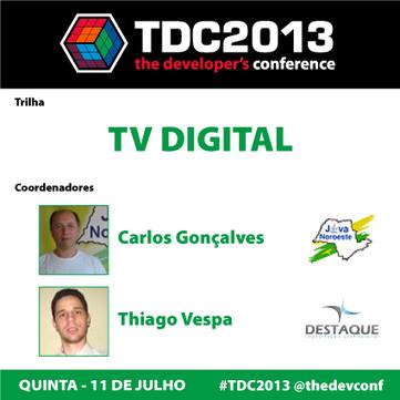 TDC São Paulo 2013 - Trilha TV Digital   T&ED   Scoop.it