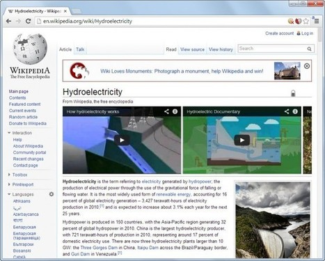 Wikitube adds YouTube videos to Wikipedia articles | Ghacks | technologie pédagogie | Scoop.it