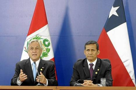 Piñera y Humala se comprometen a respetar fallo de Corte de La Haya | Un poco del mundo para Colombia | Scoop.it