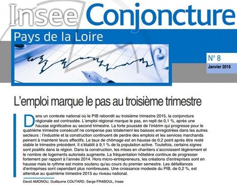 Insee > Conjoncture : L'emploi marque le pas au troisième trimestre | Observer les Pays de la Loire | Scoop.it
