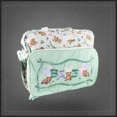 Sac à langer bébé pour femme ours vert | Boutique Muku | Scoop.it