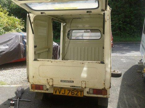 1978 Honda Acty Panel Van - UK Garage find | mini truck parts | Scoop.it