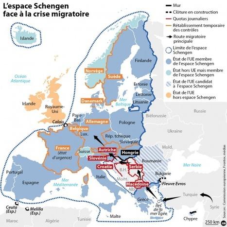 L'espace Schengen face à la crise migratoire | ClioTweets | Scoop.it