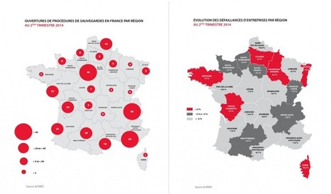 CHIFFRES : Défaillances d'entreprises en France : 2ème trimestre 2014 - Altares   OSE - l'Oeil Sur l'Entrepreneuriat   Scoop.it