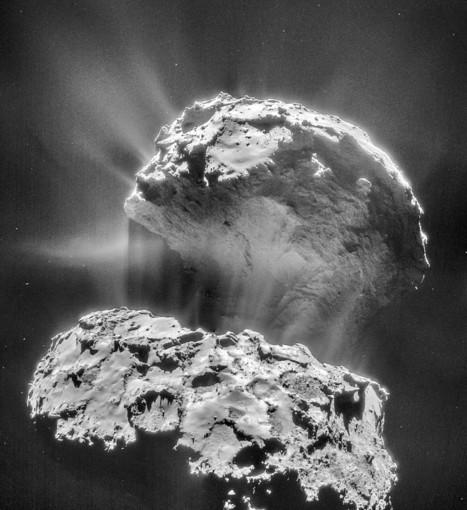 Cure d'amaigrissement en vue pour la comète de Rosetta | Epic pics | Scoop.it