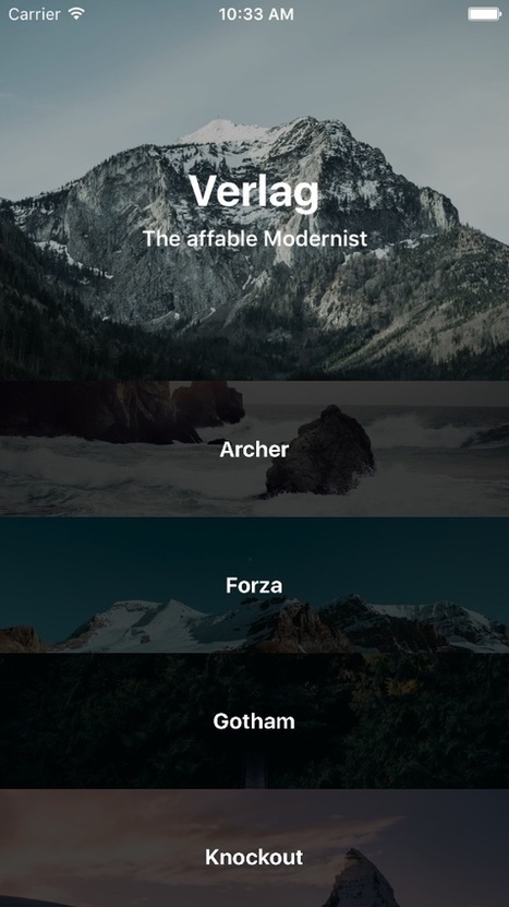 SFFocusViewLayout for iOS - Cocoa Controls | mr ios | Scoop.it