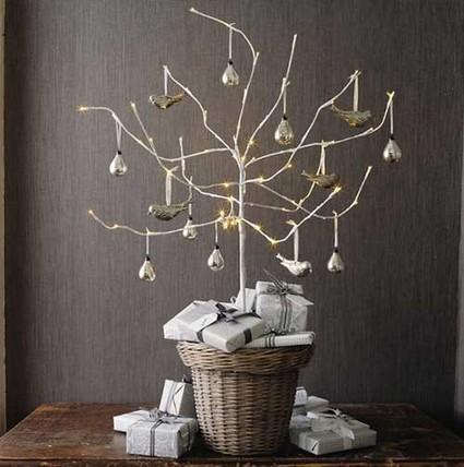 Árboles de navidad sin hojas, una nueva propuesta encantadora. | Mil ideas de Decoración | Decoración de interiores | Scoop.it