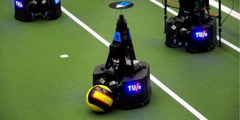 Nederlandse voetbalrobots azen op de winst tijdens RoboCup in Eindhoven - Scientias.nl | Robotica | Scoop.it