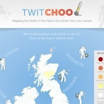 Twitchoo - Mapping the Health of the Nation This Winter From Your Tweets | Visual.ly | Healthcare infographics | Scoop.it