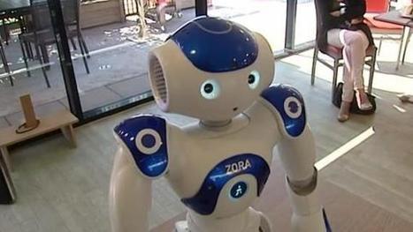 Nao, un robot de compagnie investit une maison de retraite | Clic France | Scoop.it
