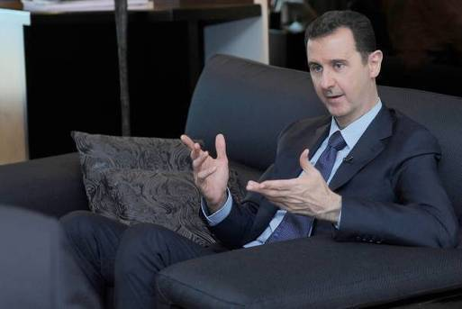 Assad tells Obama to stop arming rebels, or no deal