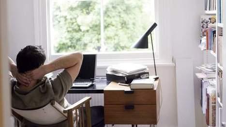 Le Figaro - Vie de l'entreprise : Les cadres travaillent chez eux et se détendent au bureau   Cadre(s) de vie - Mode(s) de vie   Scoop.it