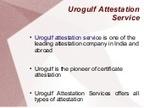 Urogulf Attestation Service   Certificate Attestation Services   Scoop.it