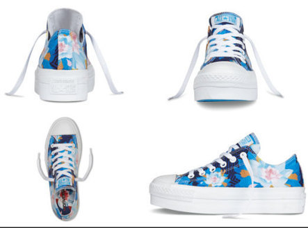 Converse Chuck Taylor All Star Flower Print Collection | Chuck Taylor | Scoop.it