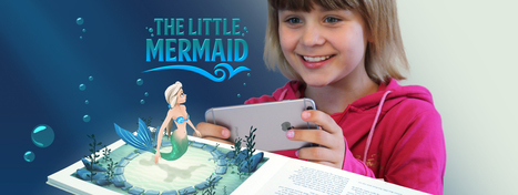 The Little Mermaid - A Magical Augmented Reality Book | Augmentation in Education | Scoop.it