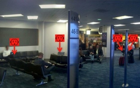 AirportPlugs - a great idea that would be even better with augmented reality | Tnooz | novadour | Scoop.it