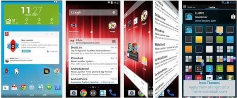 Los seis mejores launcher para Android, en vídeo | Herramientas digitales | Scoop.it