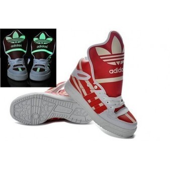 Adidas Red Glow In the Dark Originals Shoes For Sale   Comic Nike Dunks   Scoop.it