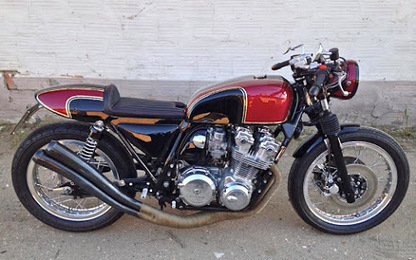 CB750 by Bottega Bastarda | Cafe racers chronicles | Scoop.it