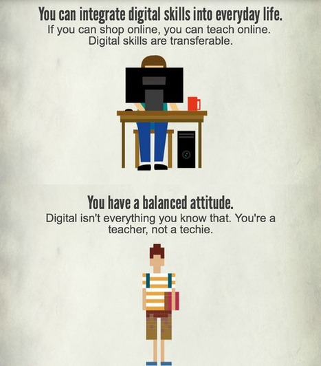 The 7 characteristics of a digitally competent teacher - Infographic | School Libraries and more | Scoop.it